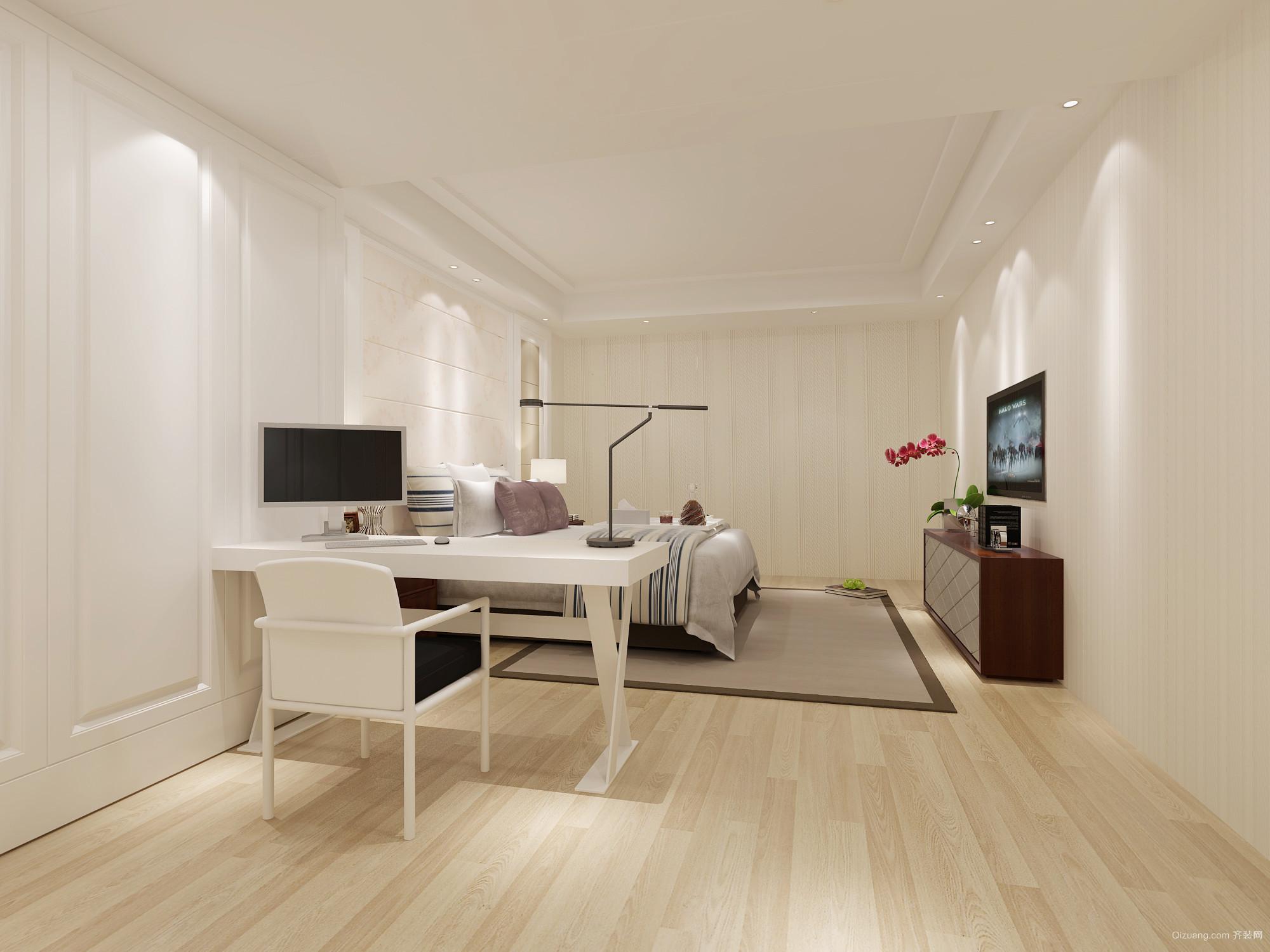 长城家园A6 1单元现代简约装修效果图实景图