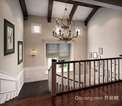 别墅美式风格装修效果图实景图