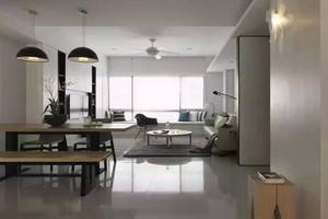 张家界120㎡现代简约装修效果图