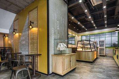厦门面包店装修设计案例