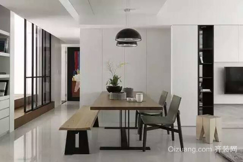 中天·鹭鸶湾现代简约装修效果图实景图