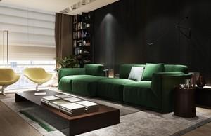 翰林苑素雅精致的家居风格 现代时尚装修设计
