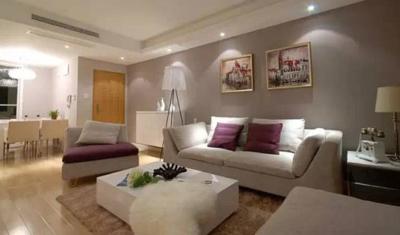 淮安90平现代温馨两房 装修设计案例