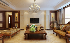 美式风格-中海奥龙观邸