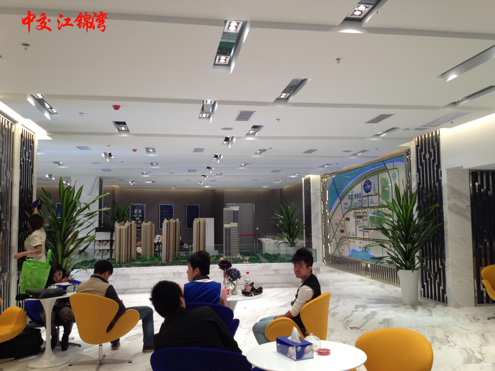 武汉中交江锦售楼部其他装修效果图实景图