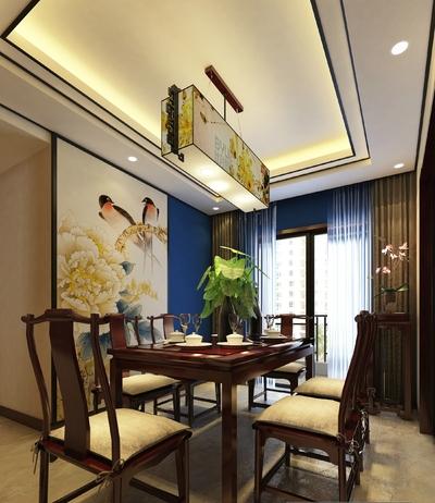 郑州新中式装修设计案例