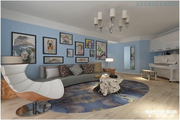 十五大街香寓现代简约装修效果图实景图