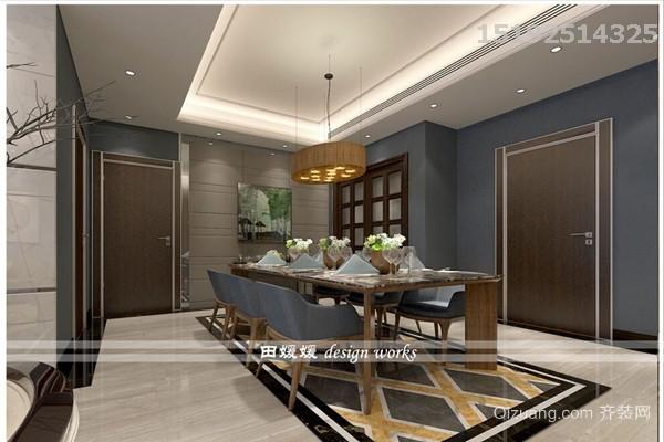 晓港名城领海现代简约装修效果图实景图