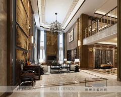 中式风格-沙河高尔夫别墅