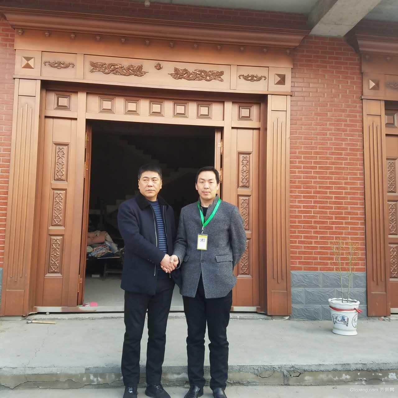 南殷村中式风格装修效果图实景图