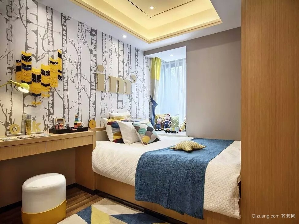 东锦苑7号楼现代简约装修效果图实景图
