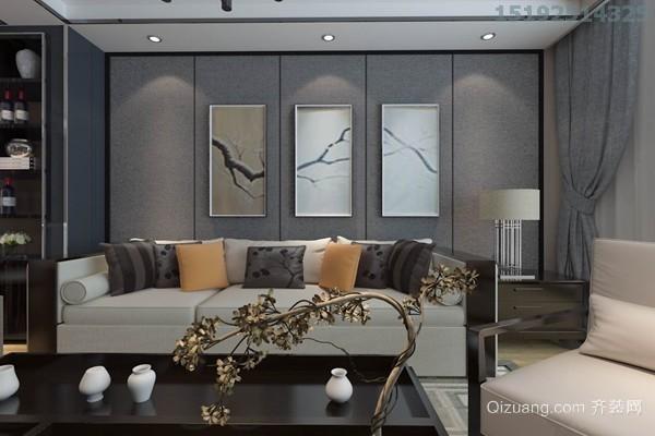 中城嘉汇中式风格装修效果图实景图