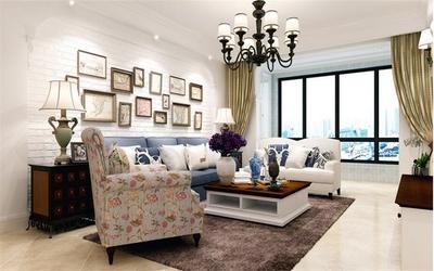 南京140平两居室现代简约风装修效果装修设计案例