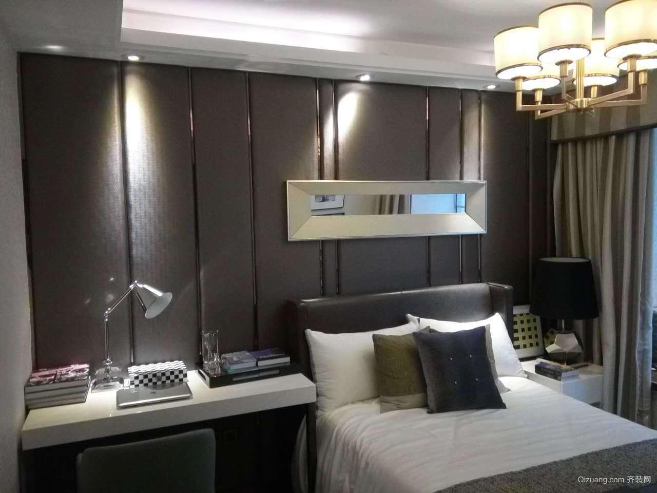 富力城18栋104房现代简约装修效果图实景图