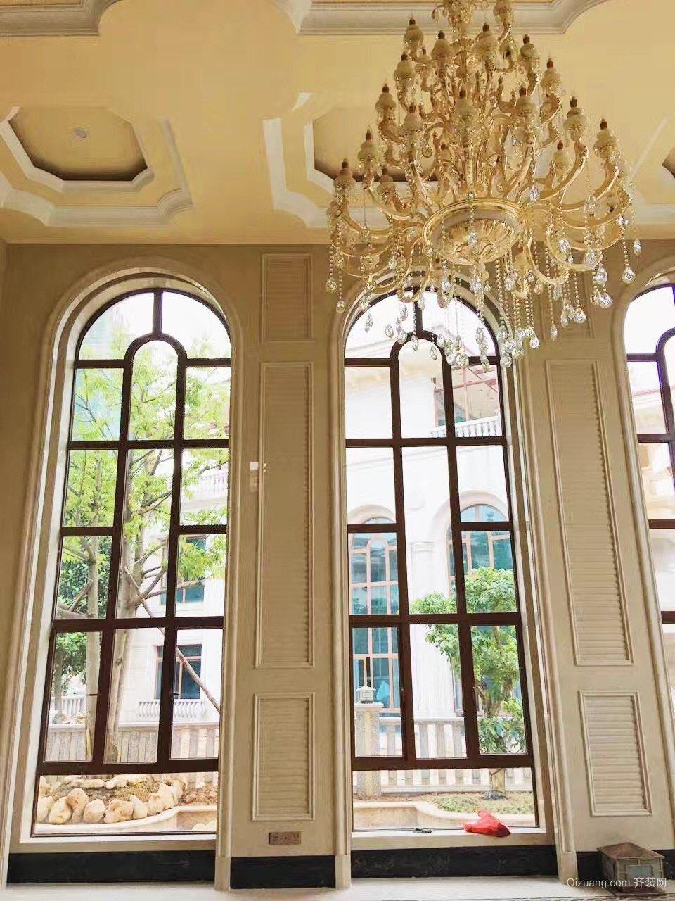 碧桂园·东江凤凰城别墅欧式风格装修效果图实景图
