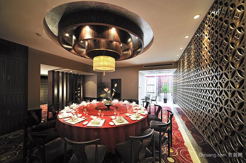 富黎华酒楼中式风格装修效果图实景图