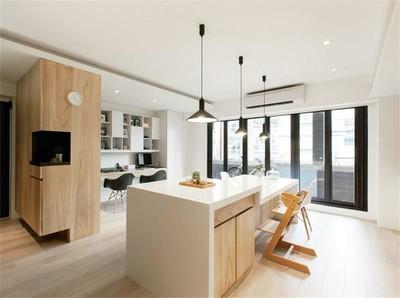 南京金域中央兩居室裝修效果裝修設計案例
