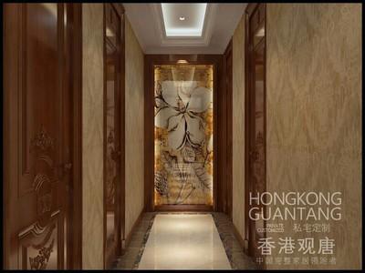 枣庄滕州状元府欧式风格装修效果图及户型图案例装修设计案例
