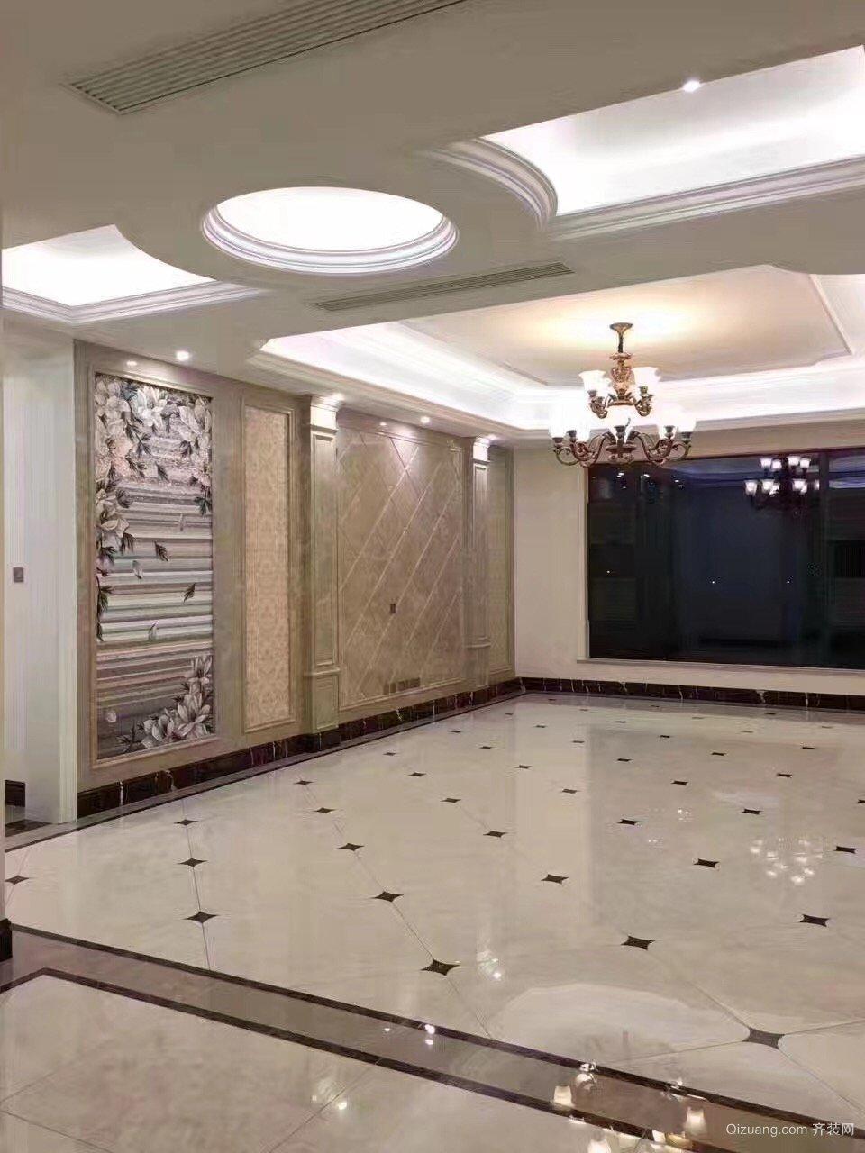 世茂锦绣长江欧式风格装修效果图实景图