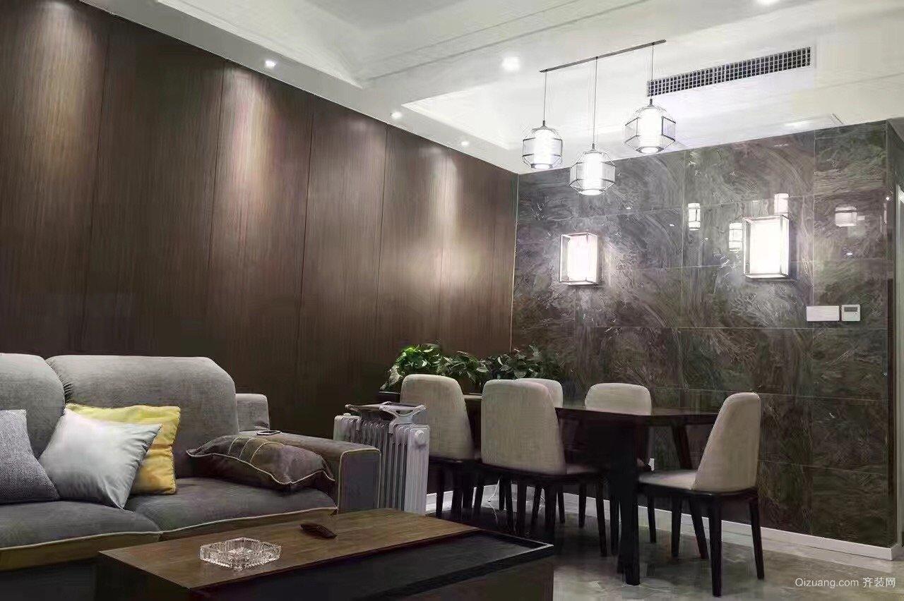 中交江锦湾现代简约装修效果图实景图
