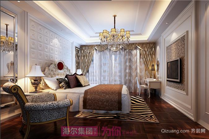 枫林九溪古典风格装修效果图实景图