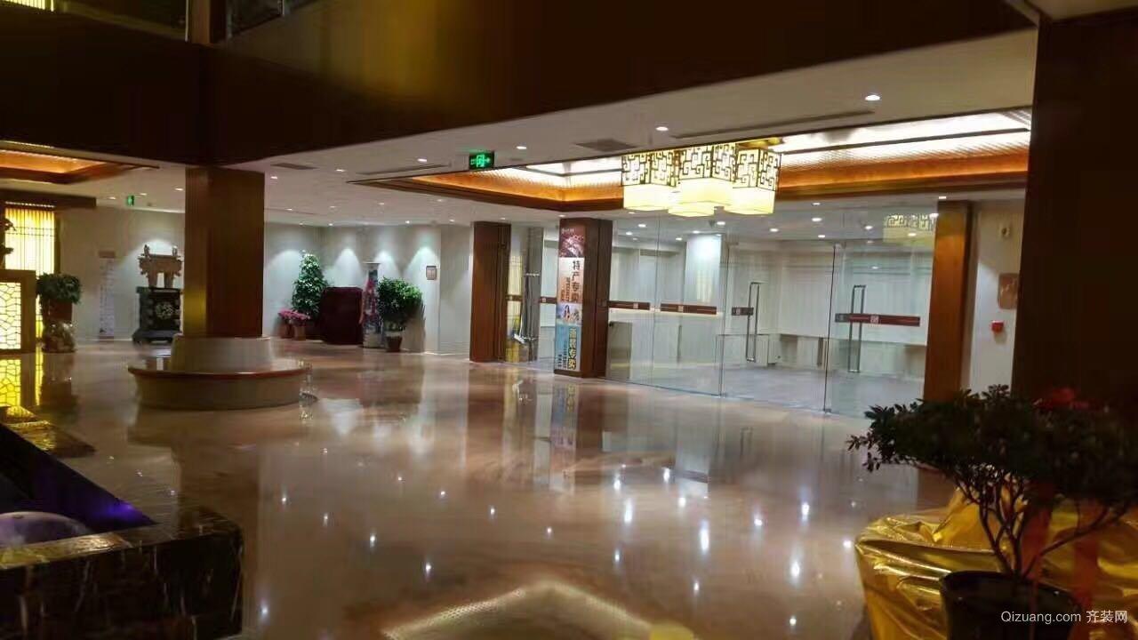 会馆中式风格装修效果图实景图