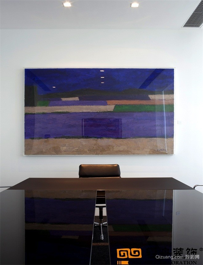 廊坊办公室欧式风格装修效果图实景图