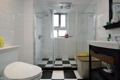 张家口三房两厅美式风格装修装修设计案例