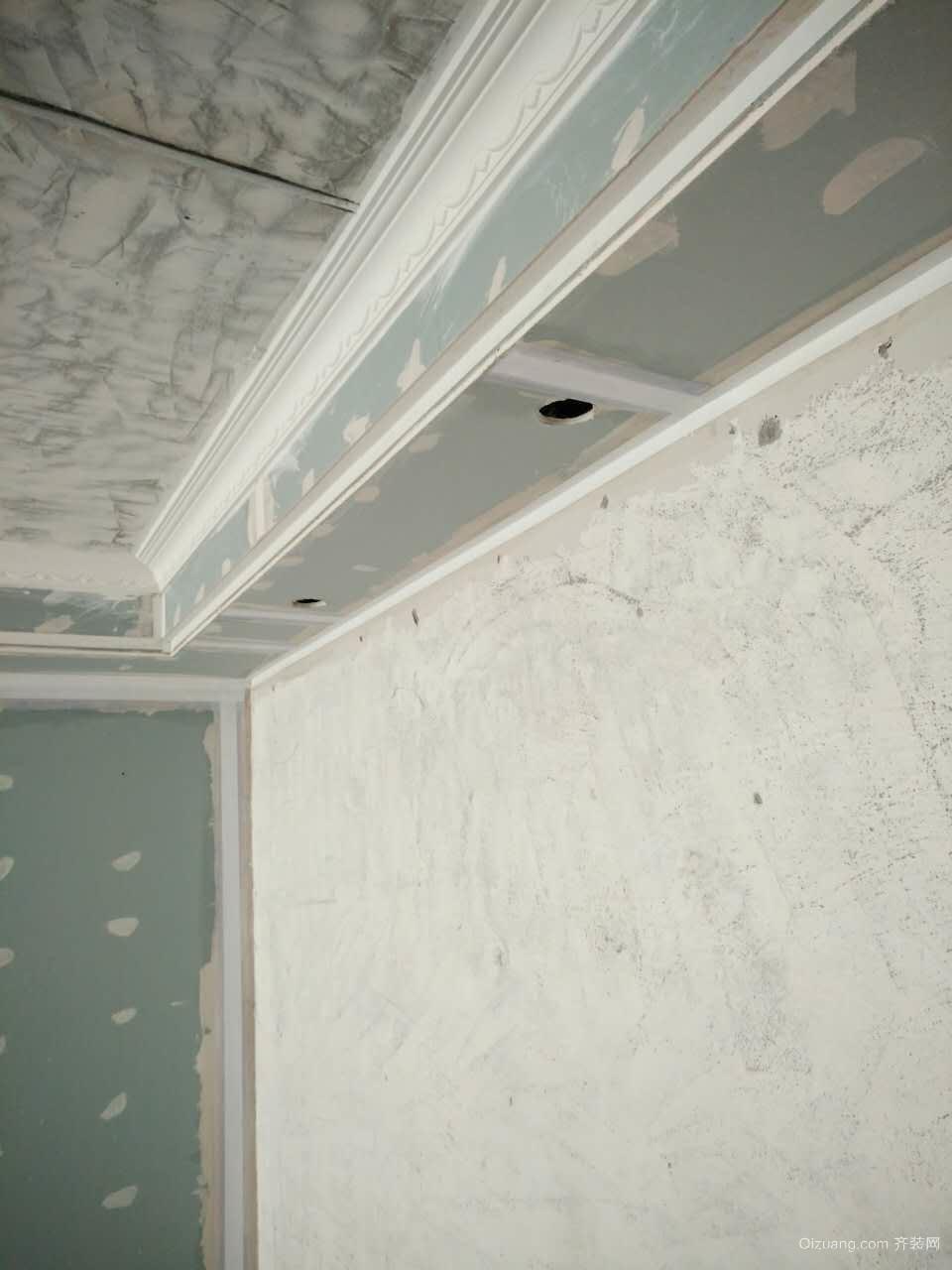 现场油漆细节和防护其他装修效果图实景图