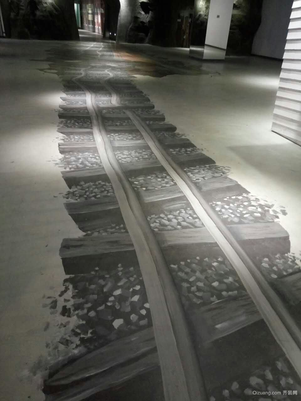 清水膜墙面地面清水混泥土 施工其他装修效果图实景图