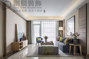 新华联梦想城128平现代简约装修效果图案例