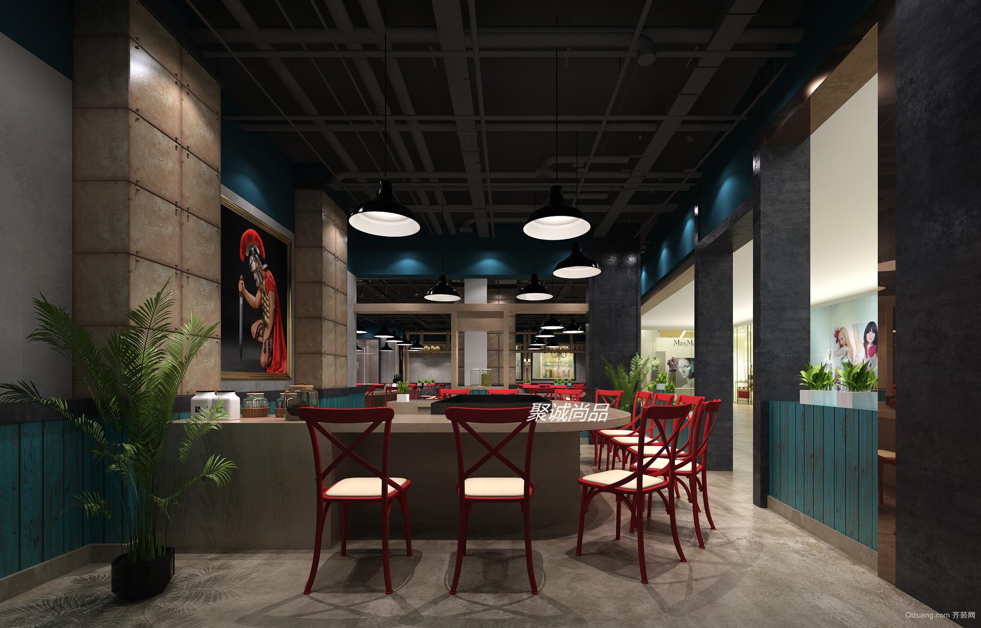 金鹰国际购物中心现代简约装修效果图实景图