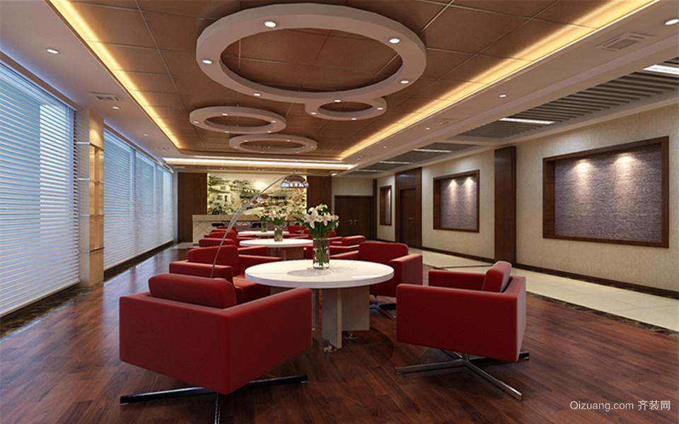 东航办公楼现代简约装修效果图实景图