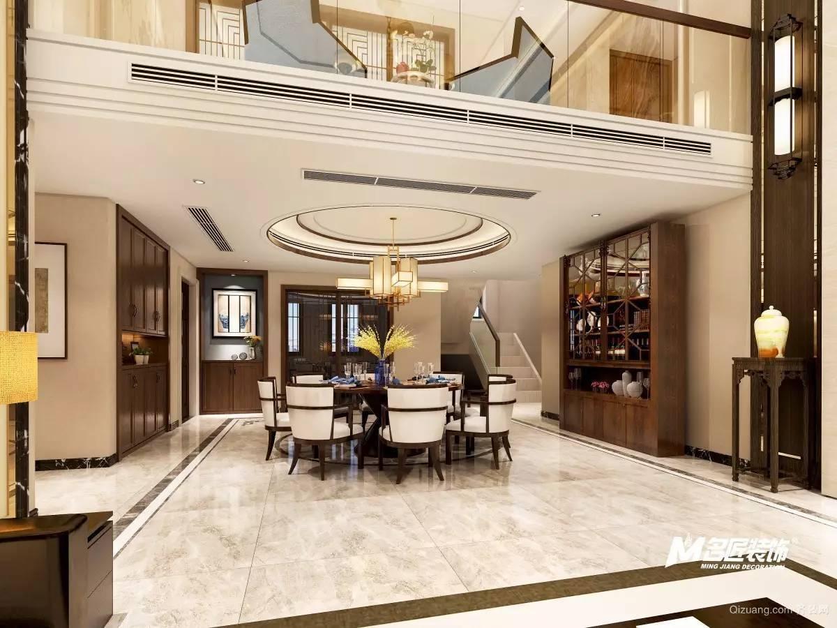 雪湖新苑中式风格装修效果图实景图