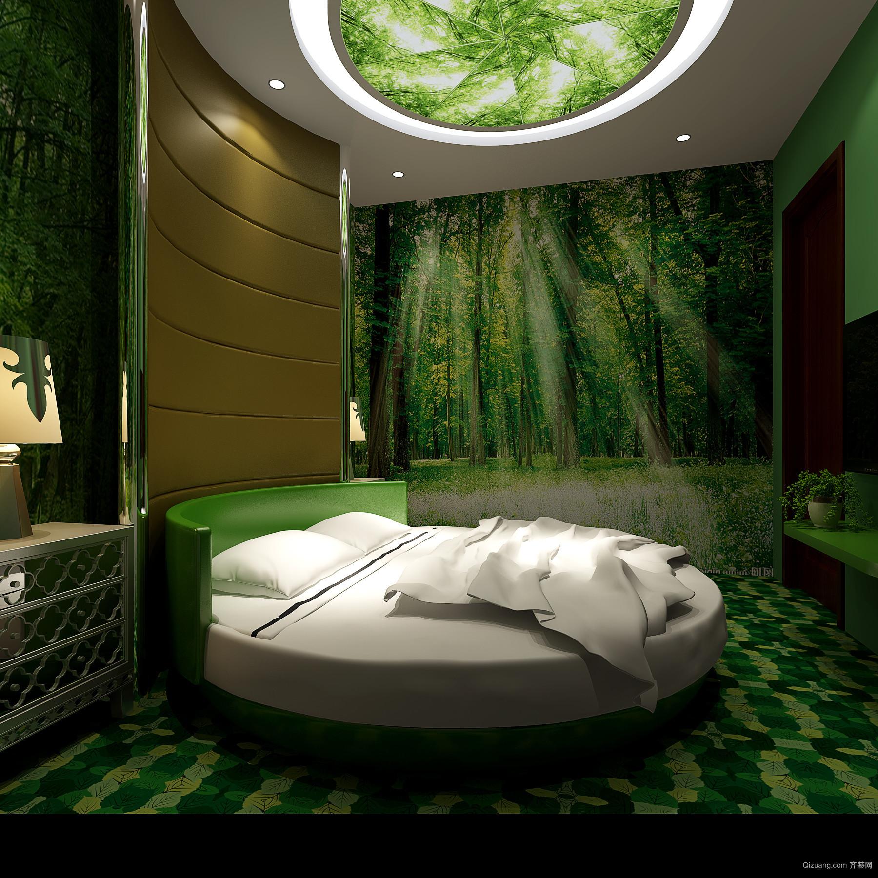 美居·丽景园新感觉主题宾馆现代简约装修效果图实景图