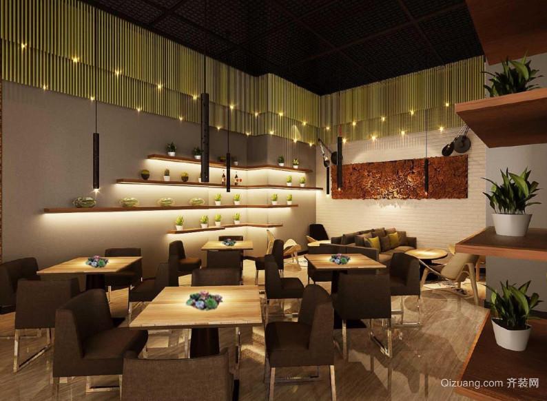 格林咖啡馆现代简约装修效果图实景图