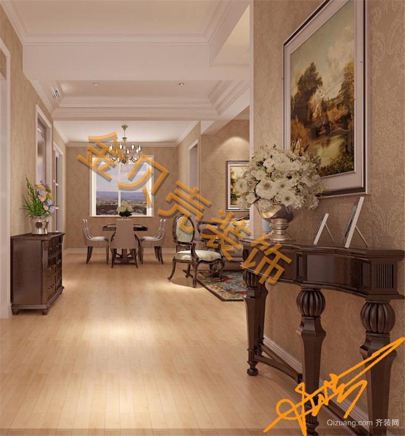 淮海花园欧式风格装修效果图实景图