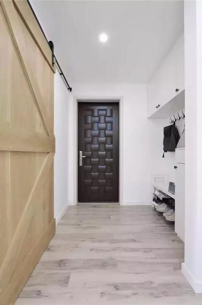 上饶凡尔赛90平小户型装修实例,凭自已打造北欧家装修设计案例