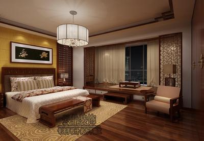 芜湖[云鼎装饰]龙吟别墅中式风格装修装修设计案例