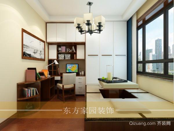 金域府邸中式风格装修效果图实景图