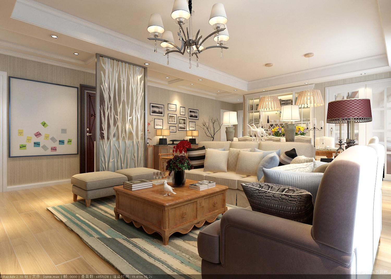山大公寓其他装修效果图实景图