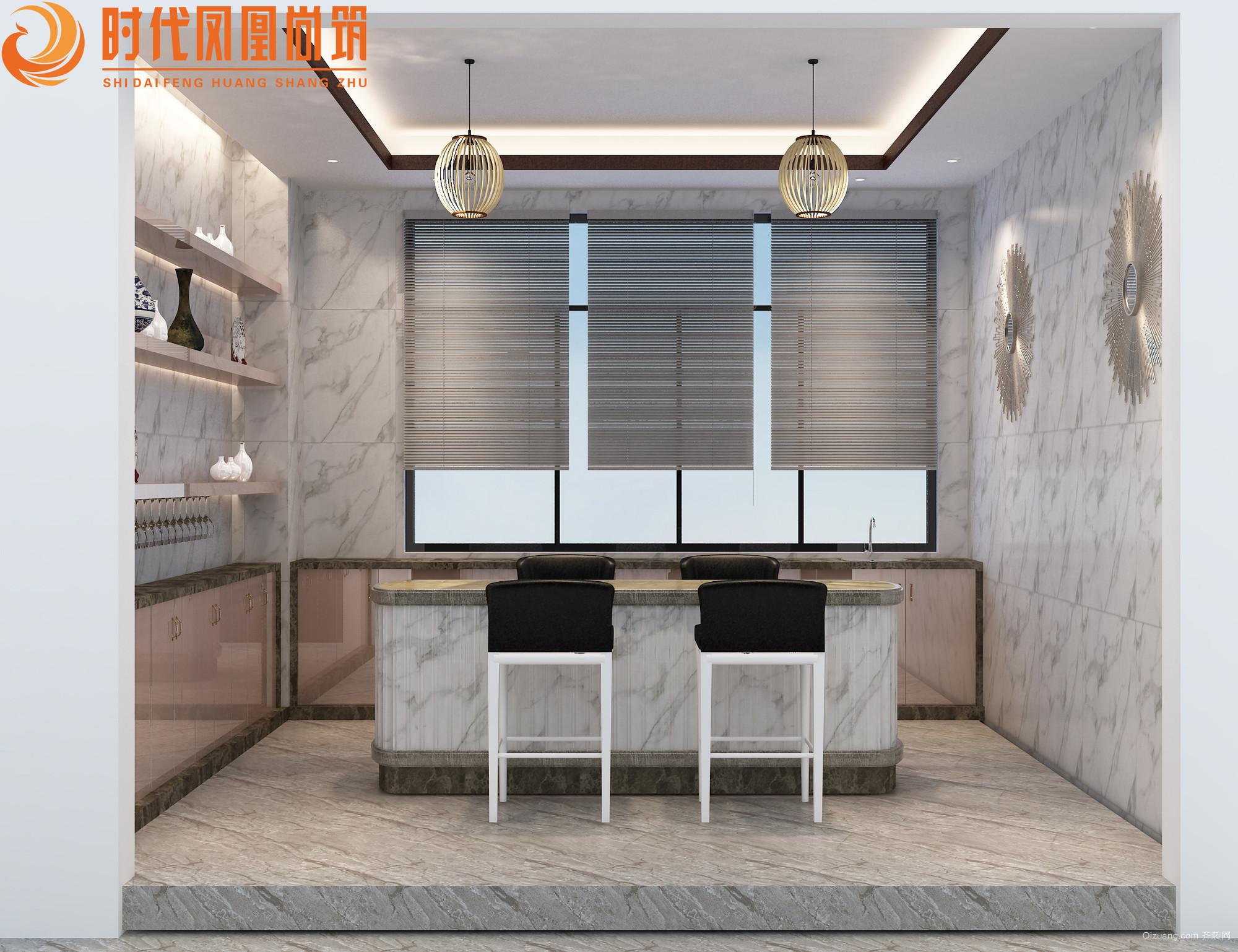 狮山克莱汽车照明公司办公区中式风格装修效果图实景图