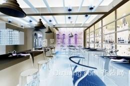 茶楼餐厅现代简约装修效果图实景图