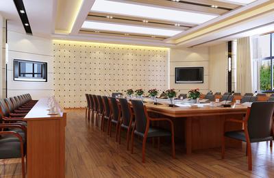 天津会议室装修设计案例
