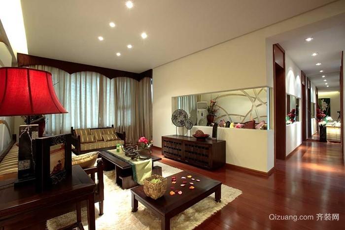 大汉龙城中式风格装修效果图实景图