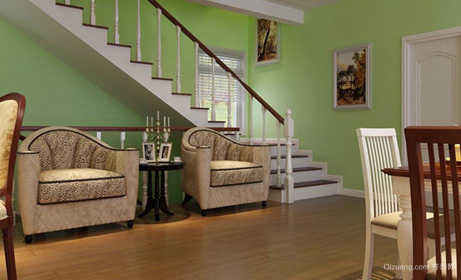 远洋戛纳小镇别墅美式风格装修效果图实景图