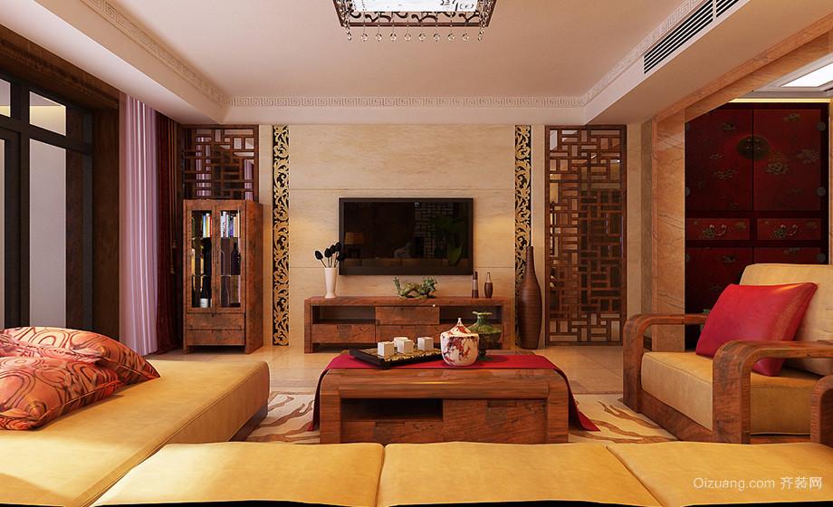 泰豪深蓝国际古典风格装修效果图实景图