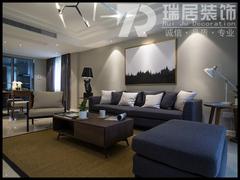 现代简约-世茂滨江151㎡现代风格装修案例效果图