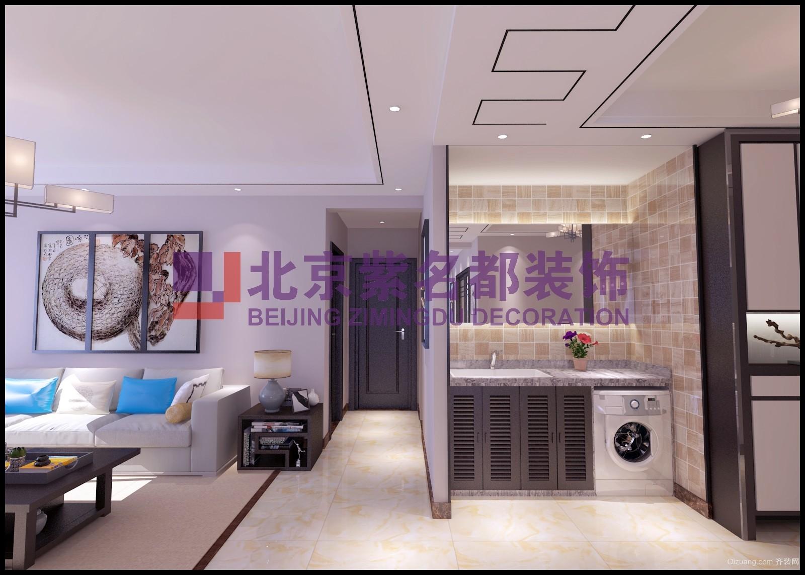 四季花语中式风格装修效果图实景图