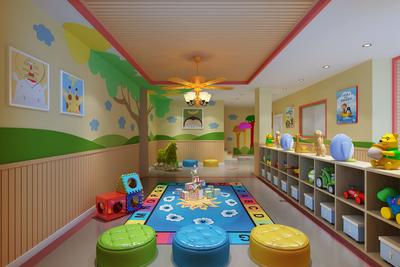 郑州幼儿园装修设计案例